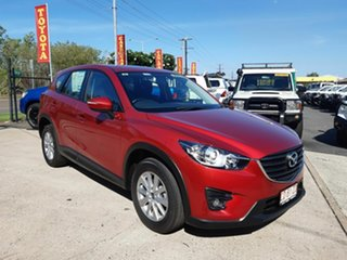 2016 Mazda CX-5 KE1032 Maxx SKYACTIV-Drive i-ACTIV AWD Red 6 Speed Sports Automatic Wagon.