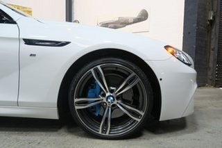 2014 BMW 6 Series F06 MY0314 640d Gran Coupe Steptronic White 8 Speed Sports Automatic Sedan.