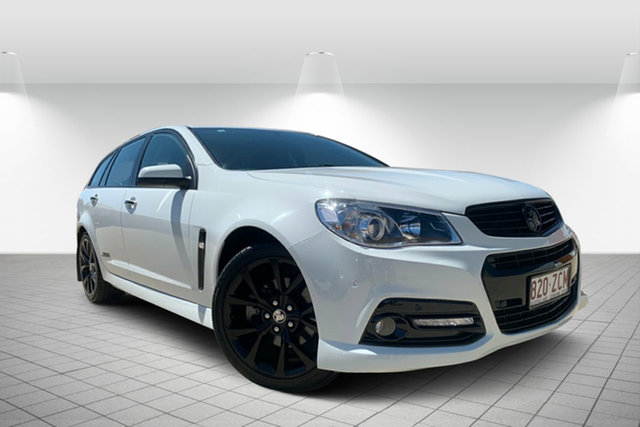 Used Holden Commodore VF MY14 SS V Sportwagon, 2014 Holden Commodore VF MY14 SS V Sportwagon White 6 Speed Sports Automatic Wagon