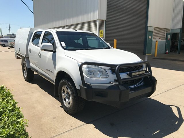 Used Holden Colorado RG MY15 LS Crew Cab, 2015 Holden Colorado RG MY15 LS Crew Cab White 6 Speed Sports Automatic Utility