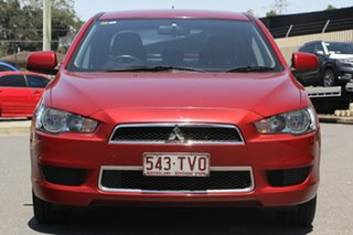 2014 Mitsubishi Lancer CJ MY14.5 LX Red 6 Speed Constant Variable Sedan
