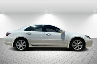 2008 Honda Legend 4th Gen White 5 Speed Sports Automatic Sedan.