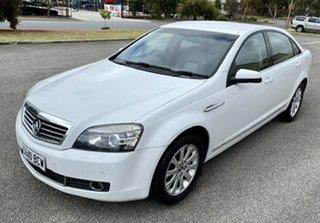 2006 Holden Statesman WM White 5 Speed Sports Automatic Sedan.