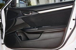 2019 Honda Civic 10th Gen MY19 VTi-L Platinum White 1 Speed Constant Variable Hatchback
