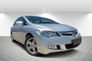 2006 Honda Civic 8th Gen Sport Silver 5 Speed Automatic Sedan.