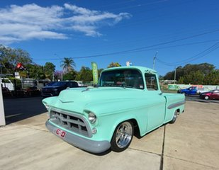 1955 Chevrolet 3100 Green Mint Automatic Utility.