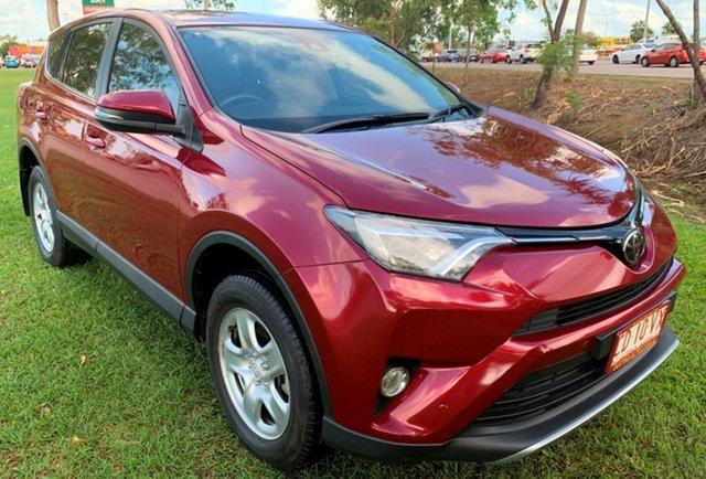 Used Toyota RAV4 ASA44R GX AWD, 2017 Toyota RAV4 ASA44R GX AWD Red 6 Speed Sports Automatic Wagon