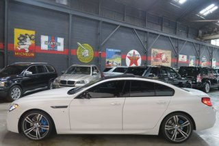 2014 BMW 6 Series F06 MY0314 640d Gran Coupe Steptronic White 8 Speed Sports Automatic Sedan