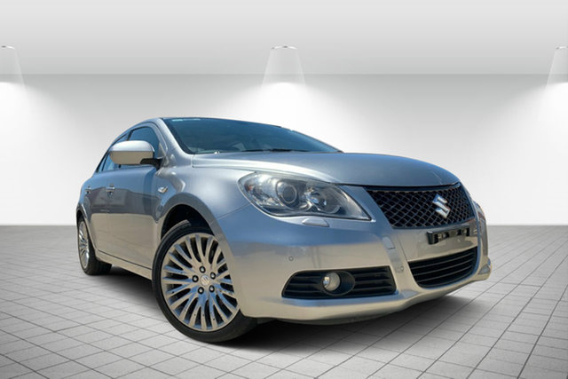 Used Suzuki Kizashi FR XLS, 2010 Suzuki Kizashi FR XLS Silver 6 Speed Constant Variable Sedan