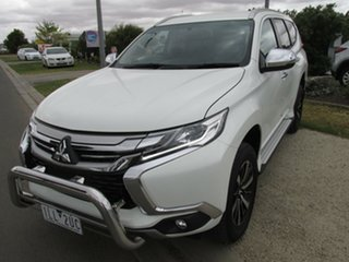 2017 Mitsubishi Pajero Sport QE MY17 GLX White 8 Speed Sports Automatic Wagon