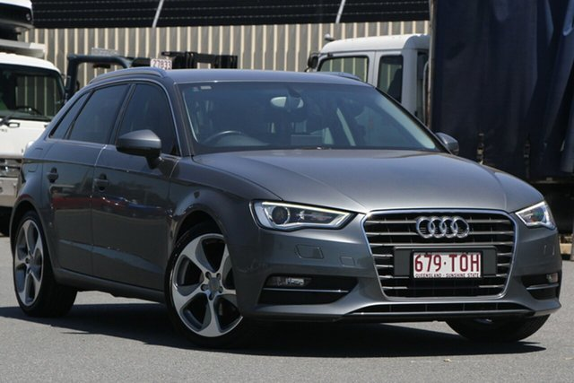 Used Audi A3 8P MY13 Ambition Sportback S Tronic, 2013 Audi A3 8P MY13 Ambition Sportback S Tronic Grey 6 Speed Sports Automatic Dual Clutch Hatchback