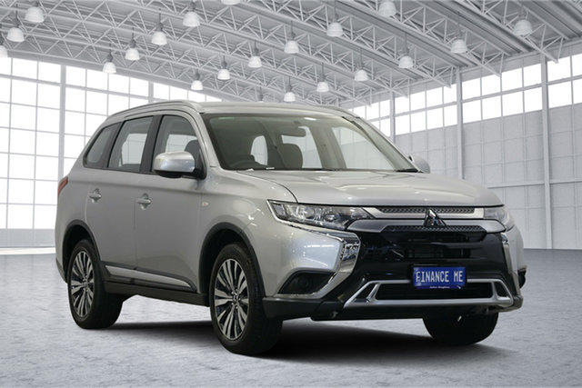 Used Mitsubishi Outlander ZL MY19 ES AWD, 2019 Mitsubishi Outlander ZL MY19 ES AWD Silver 6 Speed Constant Variable Wagon