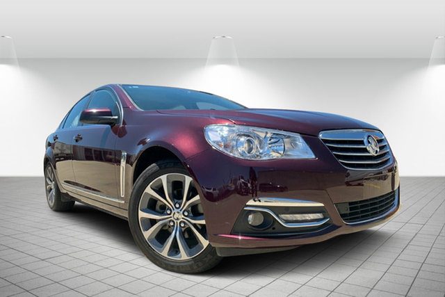 Used Holden Calais VF MY14 V, 2013 Holden Calais VF MY14 V Maroon 6 Speed Sports Automatic Sedan