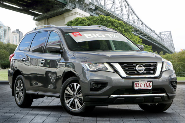 Demo Nissan Pathfinder R52 Series III MY19 ST+ X-tronic 2WD, 2019 Nissan Pathfinder R52 Series III MY19 ST+ X-tronic 2WD Gun Metallic 1 Speed Constant Variable