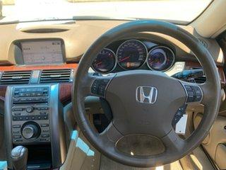 2008 Honda Legend 4th Gen White 5 Speed Sports Automatic Sedan