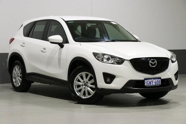 Used Mazda CX-5  Maxx Sport (4x2), 2012 Mazda CX-5 Maxx Sport (4x2) White 6 Speed Automatic Wagon