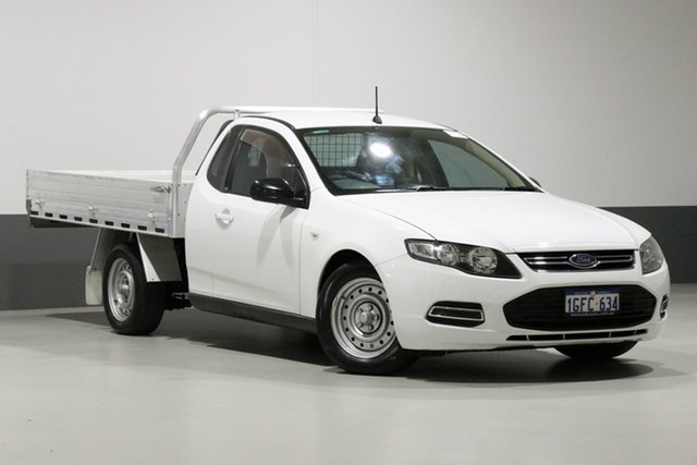 Used Ford Falcon FG MK2 (LPi), 2013 Ford Falcon FG MK2 (LPi) White 6 Speed Automatic Cab Chassis