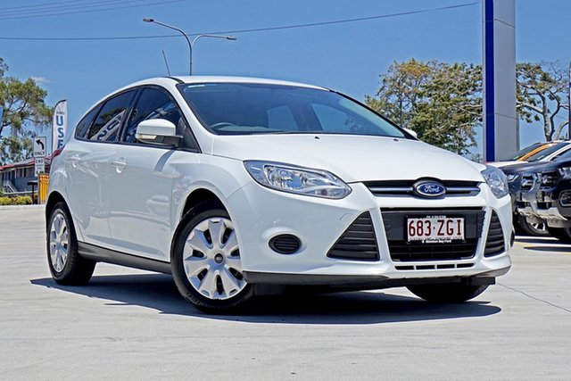 Used Ford Focus LW MkII Ambiente PwrShift, 2014 Ford Focus LW MkII Ambiente PwrShift White 6 Speed Sports Automatic Dual Clutch Hatchback