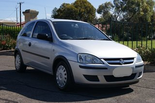 2005 Holden Barina XC (MY04.5) Silver 4 Speed Automatic Hatchback.