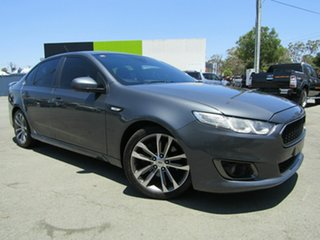 2015 Ford Falcon FG X XR6T Grey 6 Speed Auto Seq Sportshift Sedan.