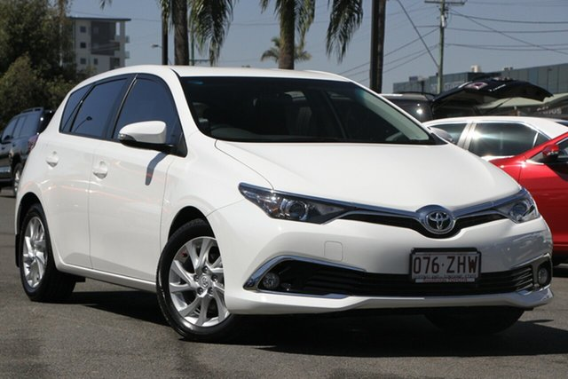 Used Toyota Corolla ZRE182R Ascent Sport S-CVT, 2016 Toyota Corolla ZRE182R Ascent Sport S-CVT Glacier 7 Speed Constant Variable Hatchback