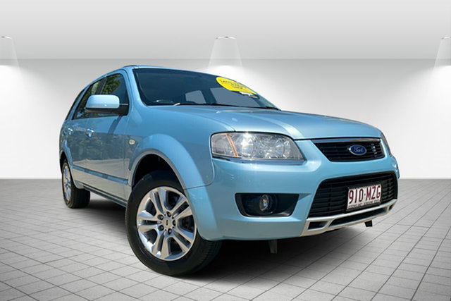 Used Ford Territory SY MkII TS, 2010 Ford Territory SY MkII TS Blue 4 Speed Sports Automatic Wagon