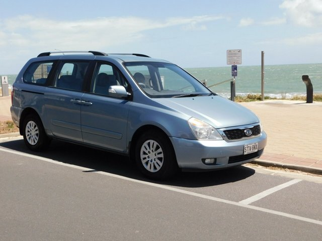 Used Kia Carnival VQ MY10 EXE, 2010 Kia Carnival VQ MY10 EXE Ice Blue 4 Speed Sports Automatic Wagon
