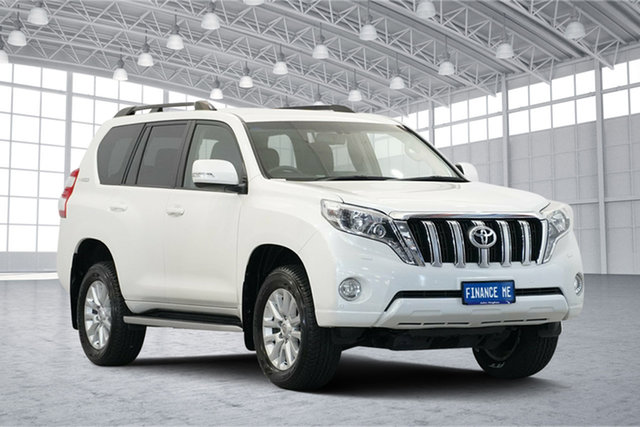 Used Toyota Landcruiser Prado GDJ150R VX, 2016 Toyota Landcruiser Prado GDJ150R VX White 6 Speed Sports Automatic Wagon