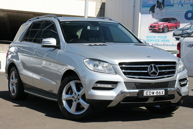 Used Mercedes-Benz M-Class W166 ML250 BlueTEC 7G-Tronic +, 2012 Mercedes-Benz M-Class W166 ML250 BlueTEC 7G-Tronic + Silver 7 Speed Sports Automatic Wagon