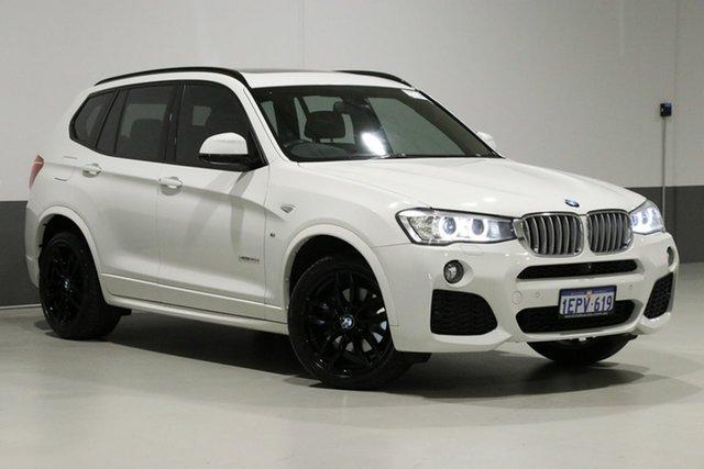 Used BMW X3 F25 MY15 xDrive 30D, 2014 BMW X3 F25 MY15 xDrive 30D White 8 Speed Automatic Wagon