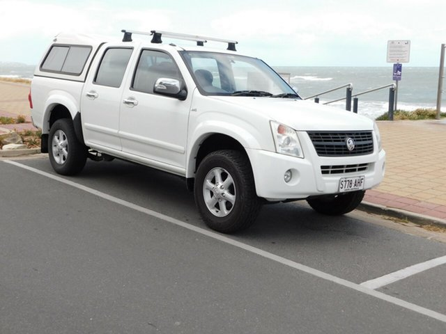 Used Holden Rodeo RA MY07 LT Crew Cab 4x2, 2007 Holden Rodeo RA MY07 LT Crew Cab 4x2 White 5 Speed Manual Utility