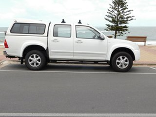 2007 Holden Rodeo RA MY07 LT Crew Cab 4x2 White 5 Speed Manual Utility.