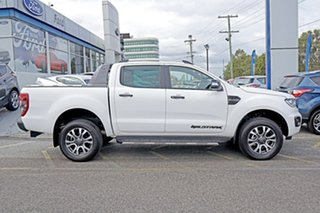 2019 Ford Ranger PX MkIII 2019.75MY Wildtrak Pick-up Double Cab White 10 Speed Sports Automatic