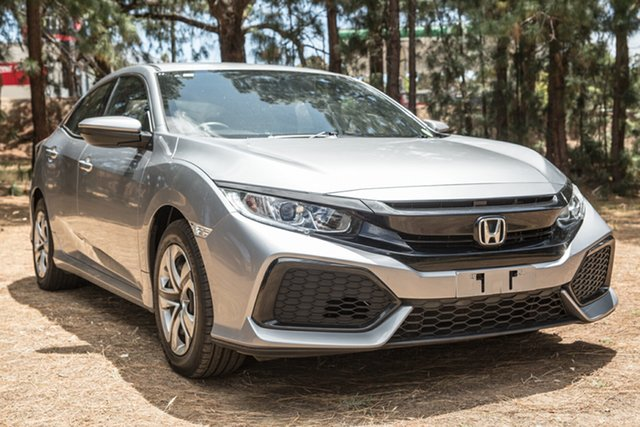 Used Honda Civic 10th Gen MY17 VTi, 2017 Honda Civic 10th Gen MY17 VTi Silver 1 Speed Constant Variable Hatchback