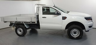 2016 Ford Ranger PX MkII XL 4x2 Hi-Rider White 6 Speed Manual Cab Chassis