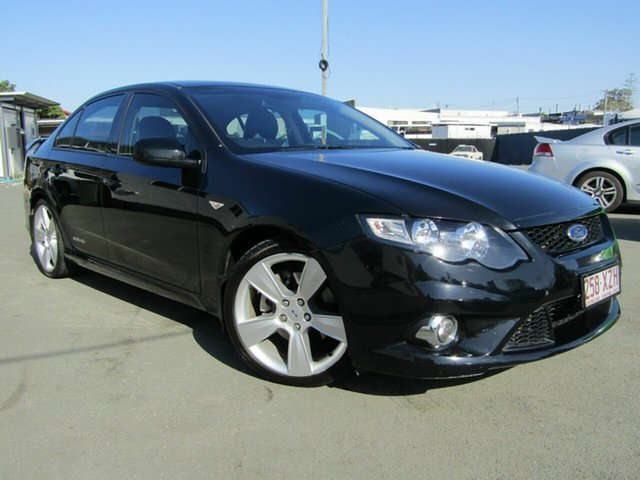 Used Ford Falcon FG Upgrade XR6T, 2011 Ford Falcon FG Upgrade XR6T Black 6 Speed Auto Seq Sportshift Sedan