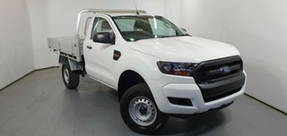2016 Ford Ranger PX MkII XL 4x2 Hi-Rider White 6 Speed Manual Cab Chassis.