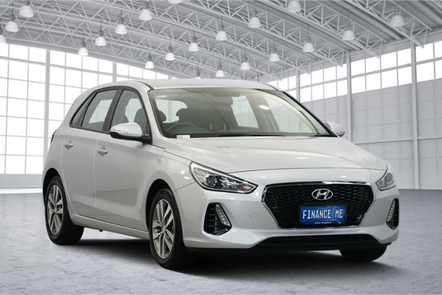 Used Hyundai i30 PD2 MY19 Active, 2019 Hyundai i30 PD2 MY19 Active Platinum Silver 6 Speed Sports Automatic Hatchback