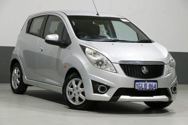 Used Holden Barina Spark MJ CD, 2010 Holden Barina Spark MJ CD Silver 5 Speed Manual Hatchback