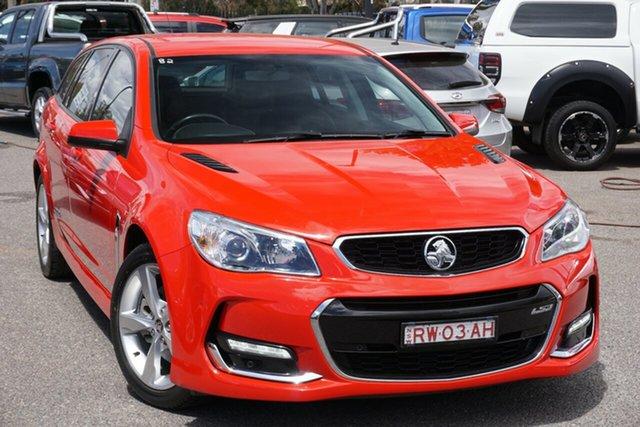 Used Holden Commodore VF II MY16 SS Sportwagon, 2015 Holden Commodore VF II MY16 SS Sportwagon Red 6 Speed Sports Automatic Wagon