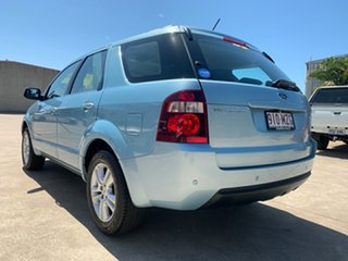 2010 Ford Territory SY MkII TS Blue 4 Speed Sports Automatic Wagon