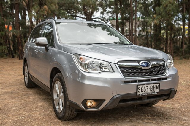 Used Subaru Forester S4 MY15 2.5i-L CVT AWD, 2015 Subaru Forester S4 MY15 2.5i-L CVT AWD Silver 6 Speed Constant Variable Wagon