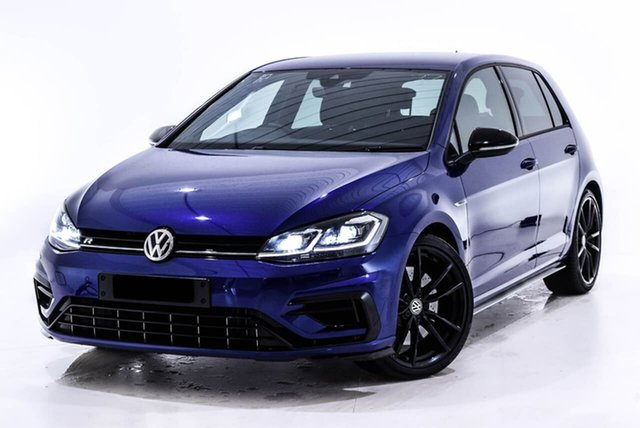 Used Volkswagen Golf 7.5 MY19 R DSG 4MOTION Special Edition, 2018 Volkswagen Golf 7.5 MY19 R DSG 4MOTION Special Edition Blue 7 Speed