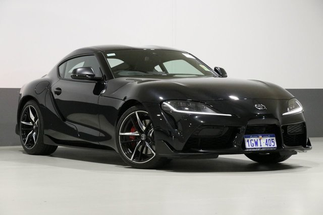 Used Toyota Supra GR DB42R GTS, 2019 Toyota Supra GR DB42R GTS Black 8 Speed Automatic Coupe