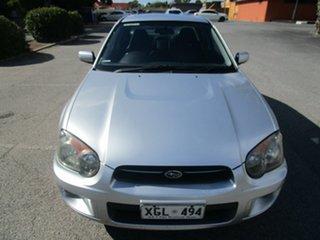 2005 Subaru Impreza GX Luxury (AWD) 5 Speed Manual Sedan.
