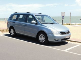 2010 Kia Carnival VQ MY10 EXE Ice Blue 4 Speed Sports Automatic Wagon.