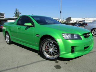 2007 Holden Commodore VE SS-V Green 6 Speed Manual Utility.