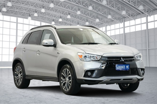 Used Mitsubishi ASX XC MY19 LS 2WD, 2019 Mitsubishi ASX XC MY19 LS 2WD Sterling Silver 6 Speed Constant Variable Wagon