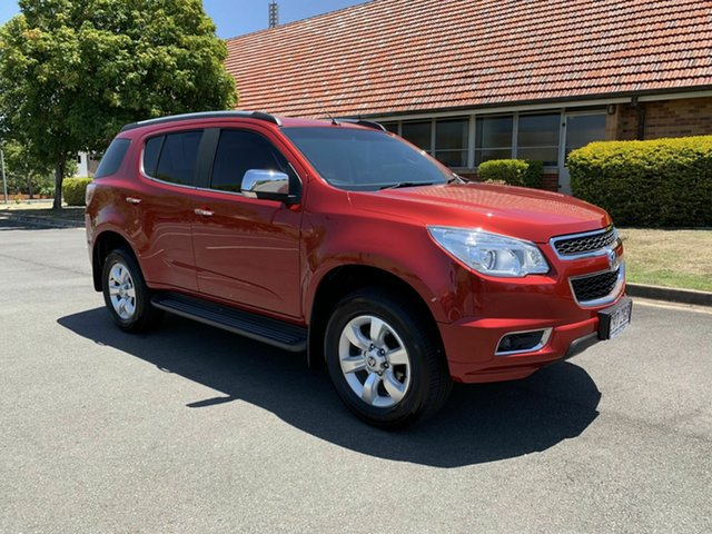 Used Holden Colorado 7 RG MY16 LTZ, 2015 Holden Colorado 7 RG MY16 LTZ Maroon 6 Speed Automatic Wagon