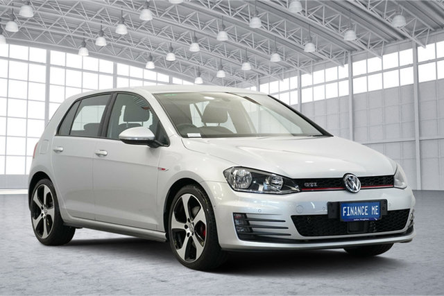 Used Volkswagen Golf VII MY15 GTi, 2015 Volkswagen Golf VII MY15 GTi Reflex Silver 6 Speed Manual Hatchback